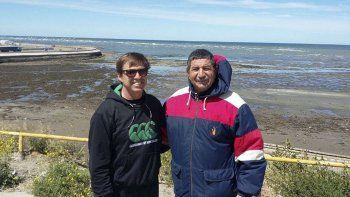 Raúl Roly Lacree y Anastasio Tazo Nicolau, 52 años de amistad, docencia y deporte.