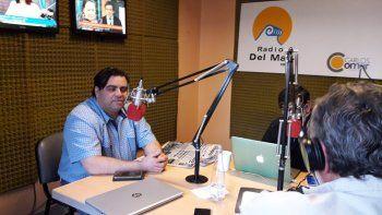 Guillermo Medina será uno de los cinco periodistas que se ocupará de actualizar la tarde informativa desde FM Del Mar.