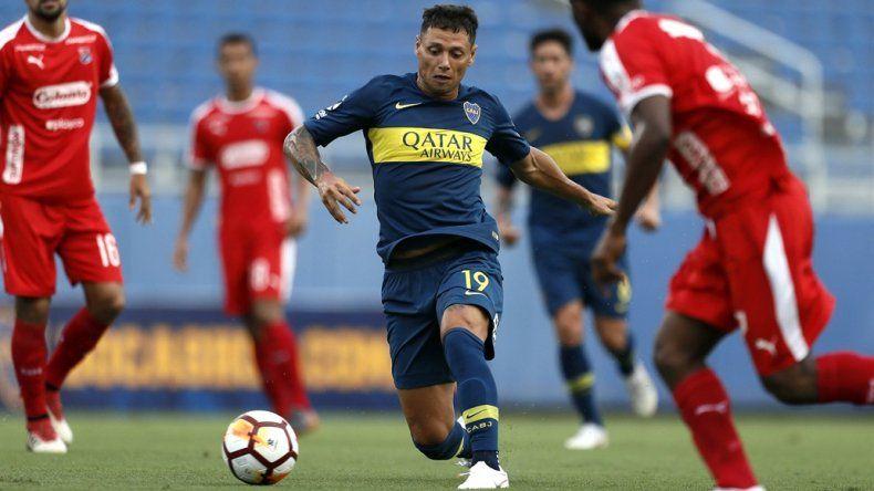 Zárate hizo un gol en la victoria de Boca