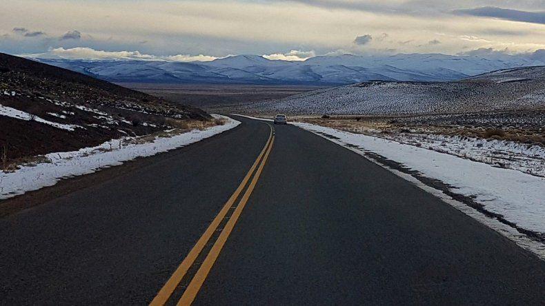 Así están las rutas de Chubut y Santa Cruz este lunes