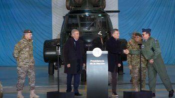 macri anuncio cambio de doctrina en las fuerzas armadas