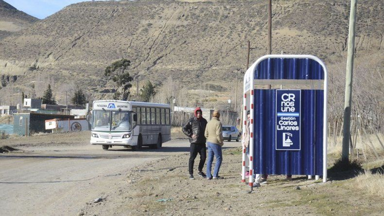 Hasta ahora los habitantes del sector tenían que llegar hasta la ruta de acceso a Laprida para acceder al colectivo.