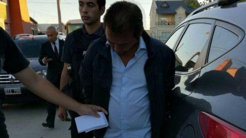 Foto: Diego Correa fue detenido en su domicilio.