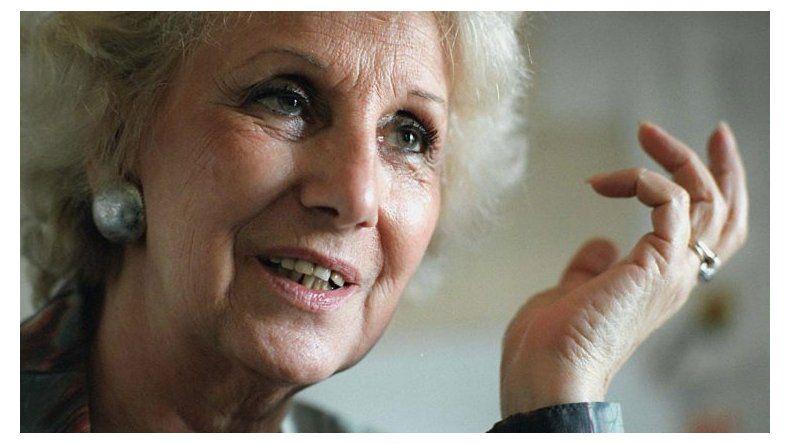 Estela de Carlotto: no queremos la militarización en nuestro país