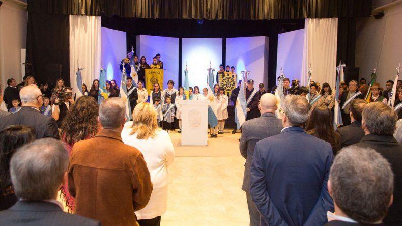 Se realizó el acto oficial por el 70º aniversario de Rada Tilly