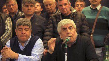 Moyano arremetió contra Macri: actúa como si fuera un gobierno de facto