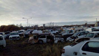 Chubut implementa programa para la compactación de autos en desuso