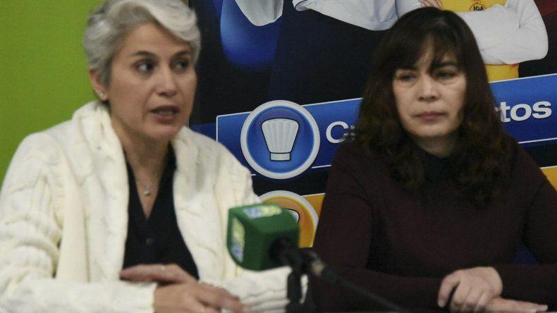 Claudia Rearte y Marisol Godoy ofrecieron detalles de la Feria del Libro de la ciudad del Gorosito.