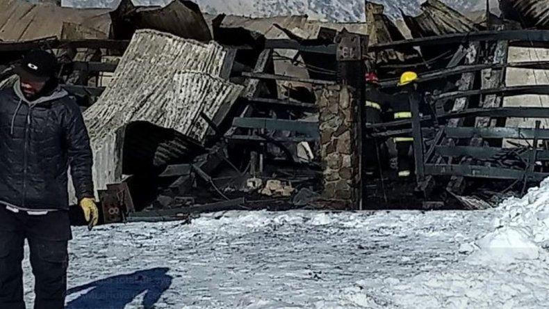 Buscan descartar si el incendio en Las Piedras fue intencional