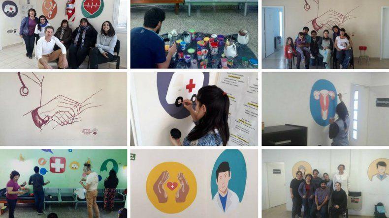 El Proyecto Arte Público en la Escuela Pública lleva realizados más de 50 murales colectivos