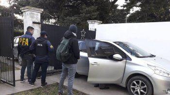 Los allanamientos que se realizaron la semana pasada en Mar del Plata y que concluyeron con cuatro detenidos.