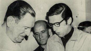 Natalio Jovanovich tuvo oportunidad de conocer personalmente a Juan Domingo Perón, con quien se entrevistó en España.