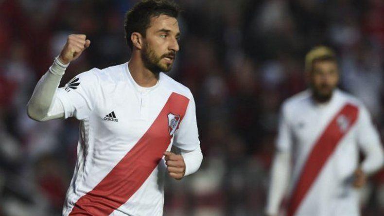 Ignacio Scocco viene de marcarle dos goles a Central Norte de Salta.