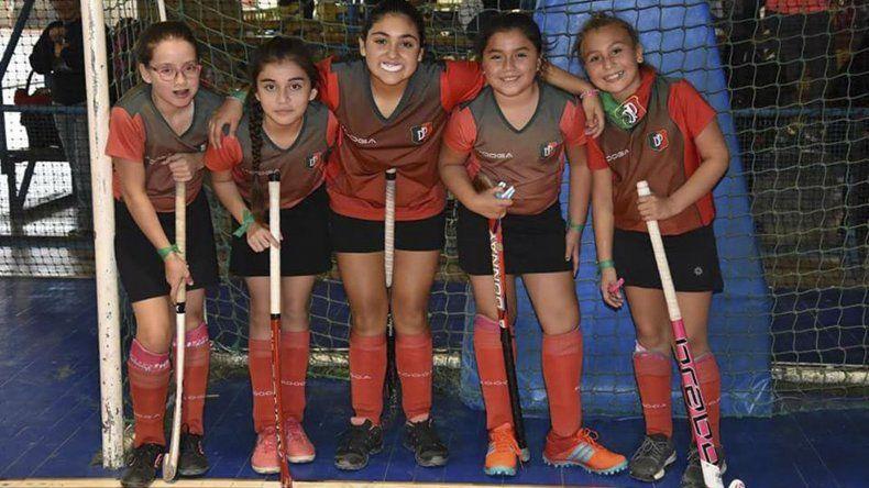 El hóckey es una actividad a la que Portugués apunta desde hace tiempo.