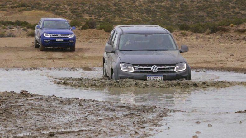 Experto Amarok puso a prueba la potencia y ductilidad de la camioneta V6 de Volks-wagen.