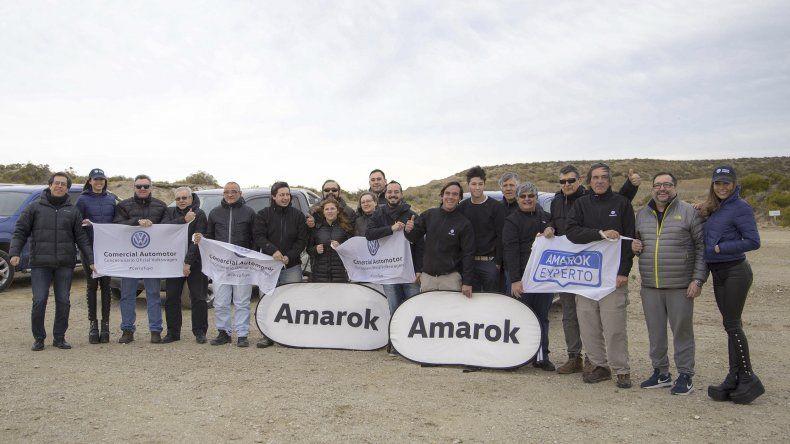 Experto Amarok lució en Comodoro Rivadavia la potencia de la pick up V6