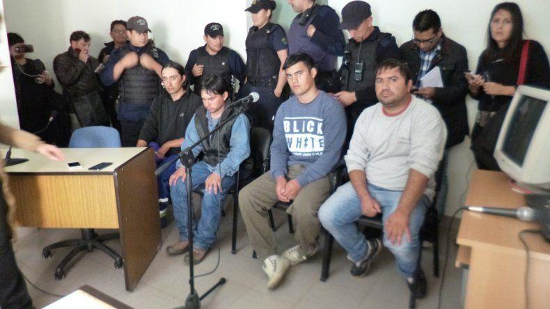 Tres de los cuatro familiares Ibáñez fueron reconocidos por el testigo de las torturas que sufrió Alan Nahuelmilla.