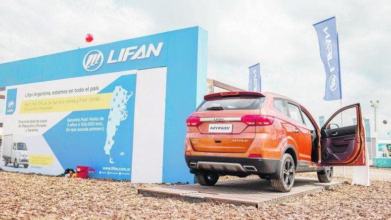 Myway. Lifan debuta en La Rural y expone a sus SUV.