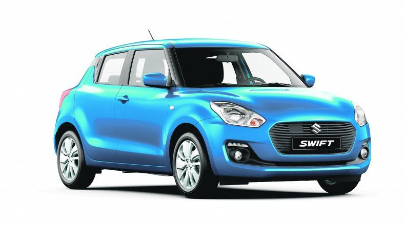 Suzuki Swift: equipamiento de nivel superior