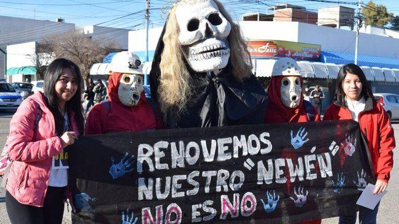Vecinos autoconvocados en contra de la zonificación minera