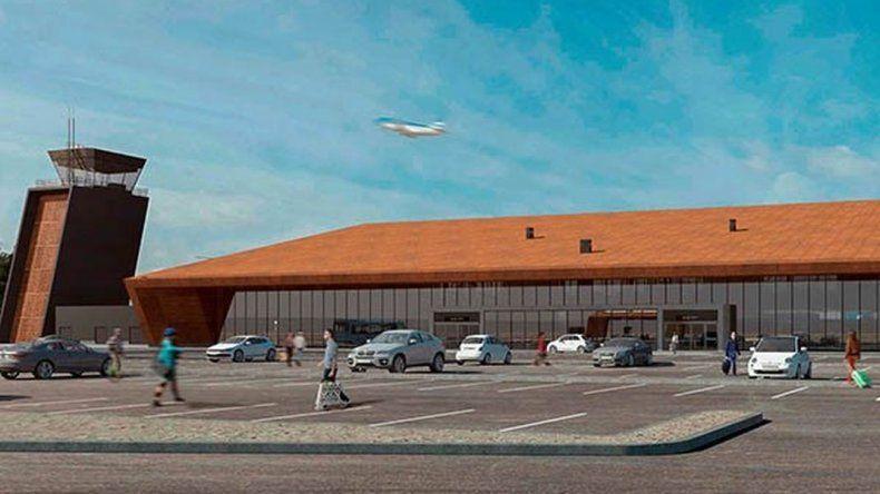 Denuncian  demora en la obra del Aeropuerto de Esquel
