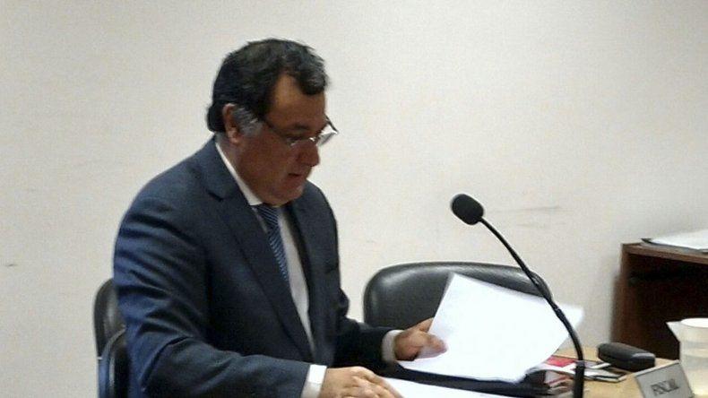 Herminio Gonzales Meneses actuó como fiscal en la causa. El había sido denunciado por la condenada de ser parte de la confabulación que le quitó una propiedad.