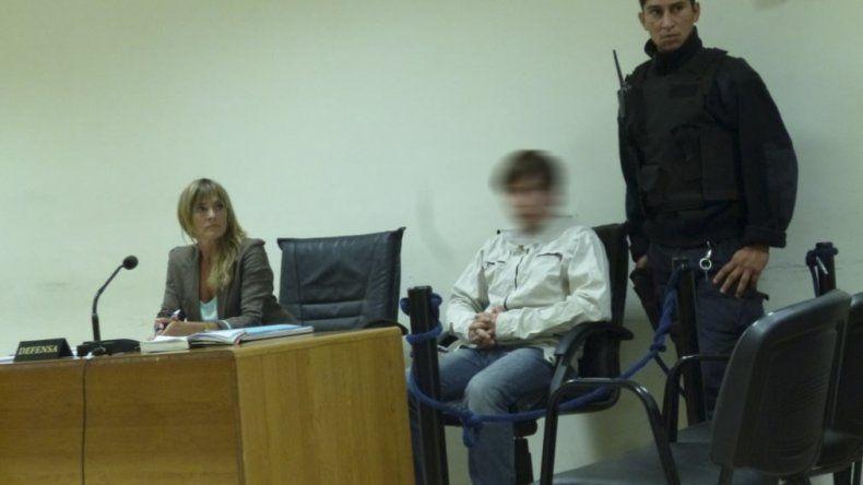 Lucas Neira estuvo preso por robo