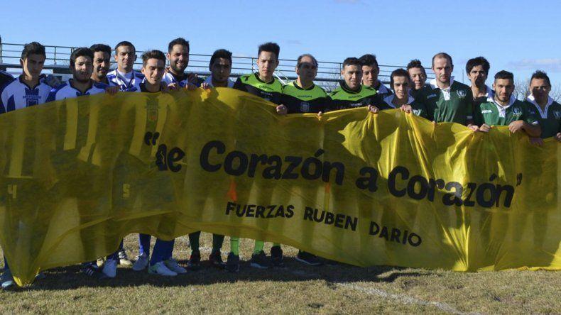 En la zona del valle chubutense está llevando a cabo una campaña de corazón por Rubén Darío Vega.