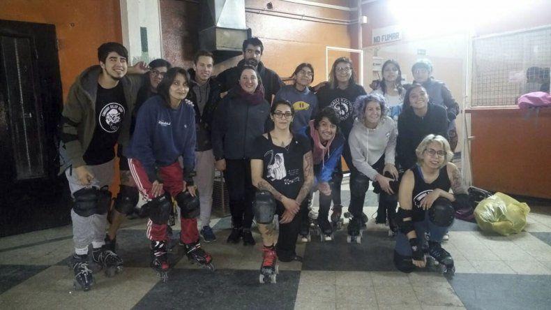 Daniela Giménez Corbera visitó por segunda vez la ciudad y capacitó a las Guerreras del Chenque.