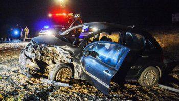 Murió un hombre en un choque frontal en la Ruta 25 entre Rawson y Trelew