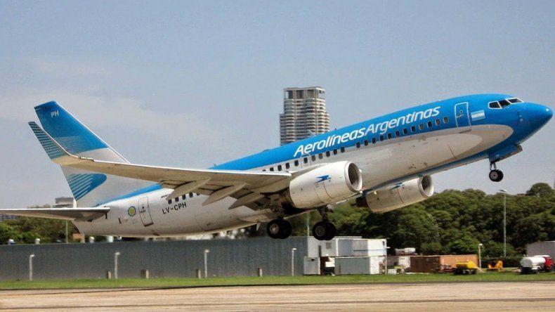 Ventas récord de Aerolíneas Argentinas por descuentos