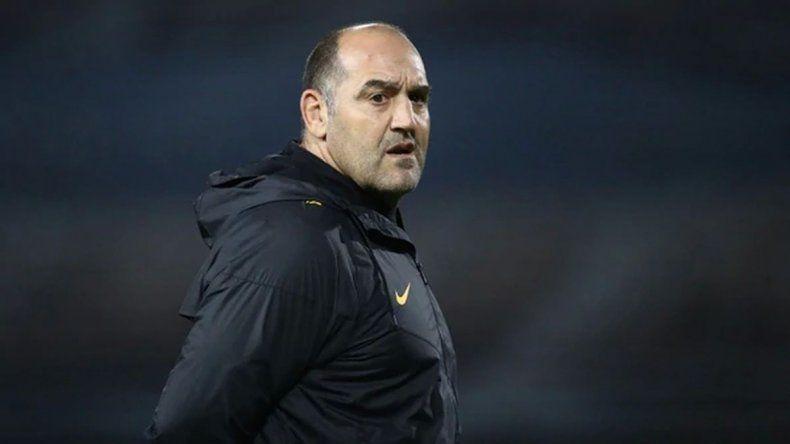 Mario Ledesma asumió como nuevo entrenador de Los Pumas