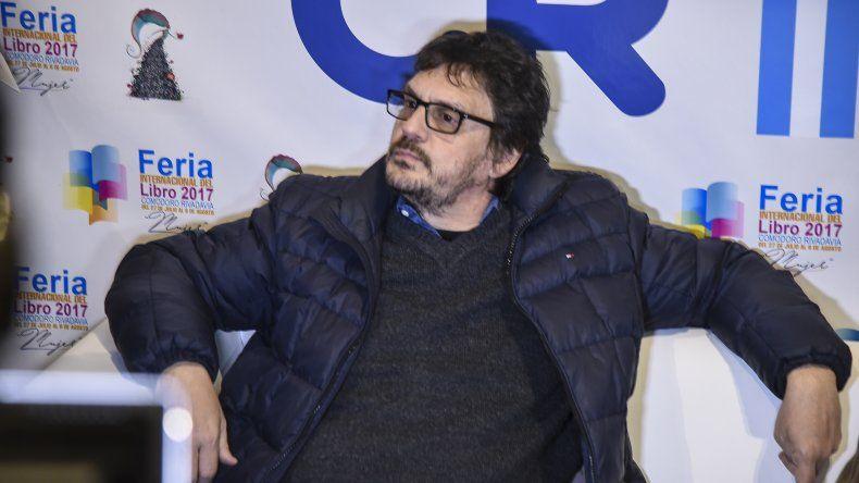 El historiador Felipe Pigna es una de las figuras destacadas en la cartelera de la jornada inaugural de hoy.