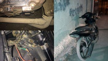 Recuperan una moto robada en las 1008 Viviendas