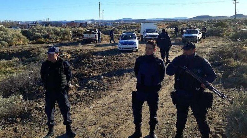Desalojaron un intento de usurpación camino a Caleta Córdova