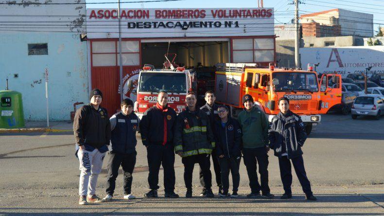 Bomberos Voluntarios en estado de  alerta y movilización contra el ajuste