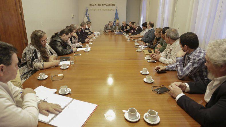 En la reunión se repasó la realidad que atraviesan las cooperativas de toda la provincia.