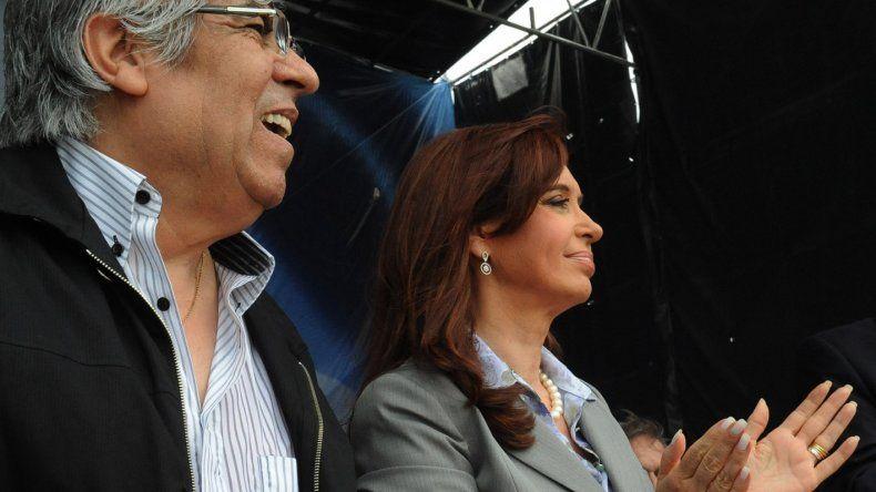 Expectativa por la presencia de Cristina junto a Moyano en un acto de Smata