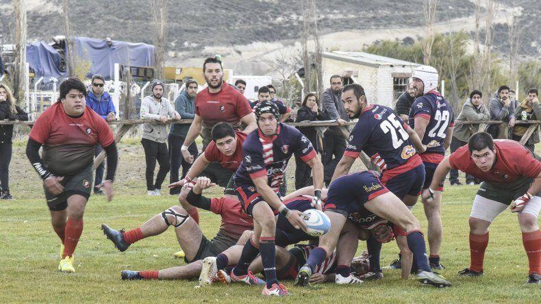 La guinda vuelve esta tarde a tener acción por el torneo Austral de rugby.