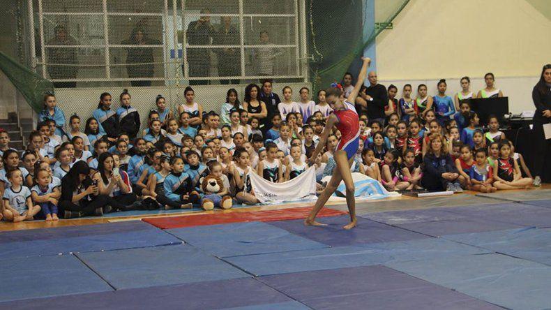 En Comodoro finaliza el Provincial de gimnasia artística