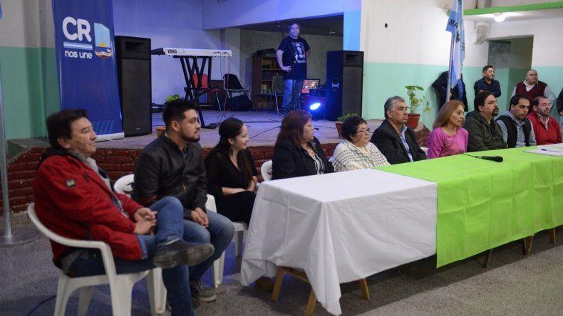 Asumieron nuevas autoridades barriales en Laprida