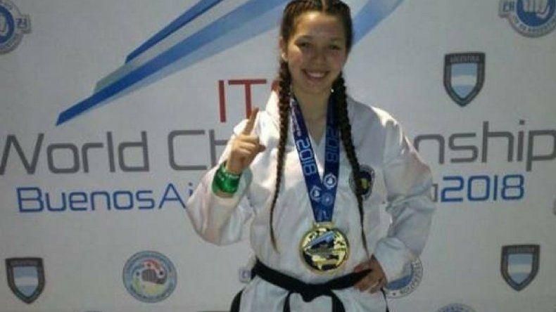 Leila Ramos, nuevamente  campeona mundial