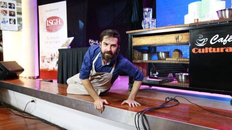 El chef Pablo Martin charló sobre alimentación consciente