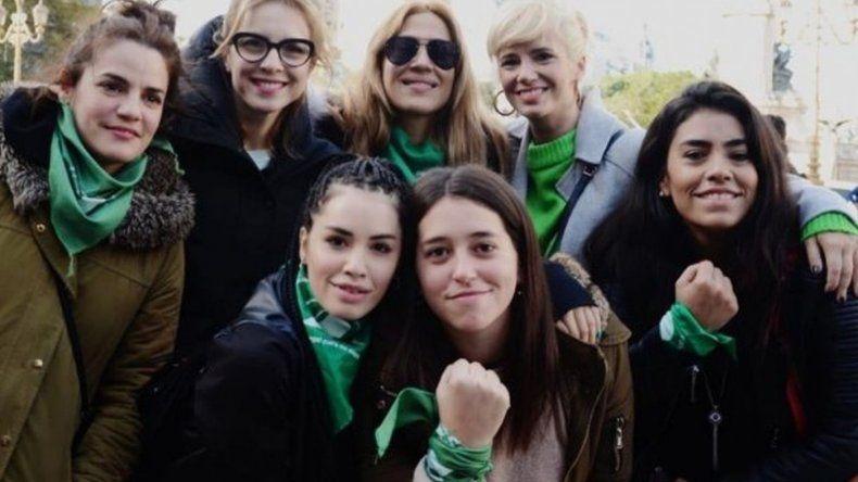 El colectivo de actrices llama a marchar para apoyar la ley