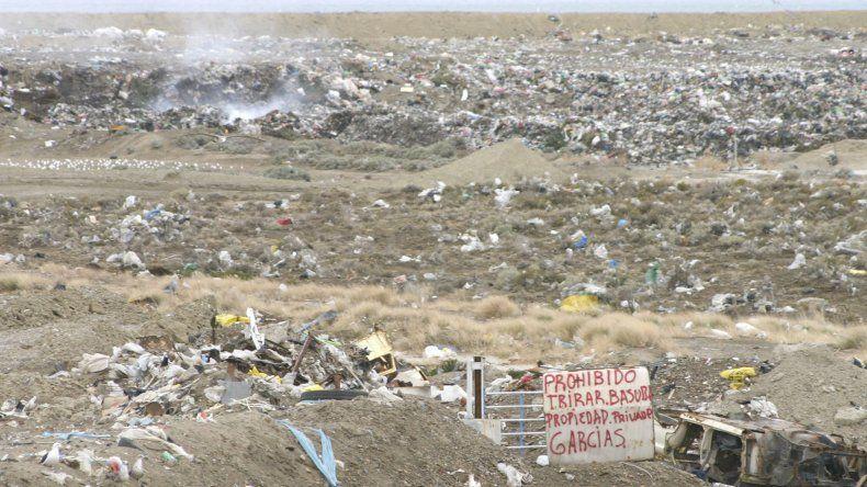 El tema de la disposición final de los residuos es histórico en Comodoro.