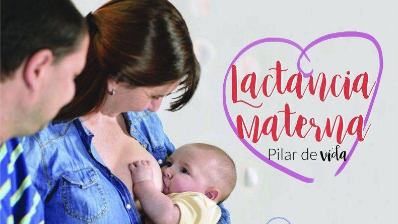 La charla sobre la semana de la Lactancia Materna será el sábado a partir de las 16:30 en la sede de Petroleros Privados.