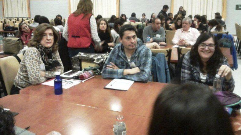 El encuentro provincial de educación ambiental se desarrolla en Puerto Madryn.