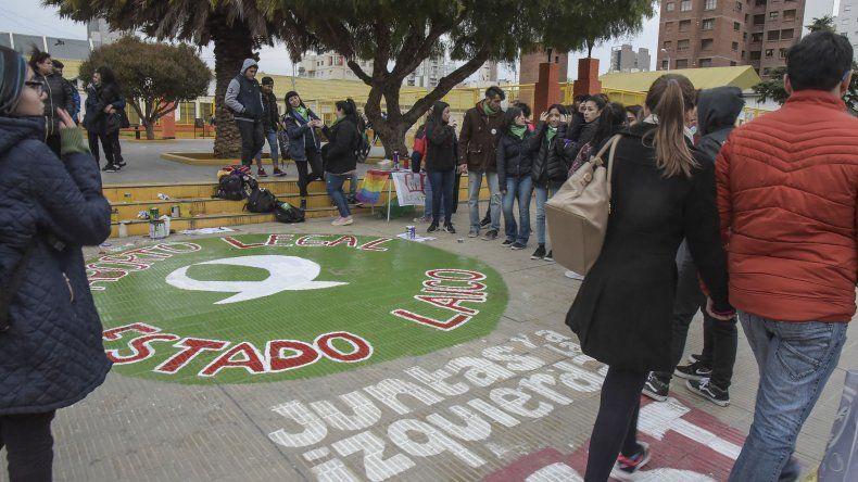 El movimiento local a favor de la legalización del aborto ha sido importante en Comodoro.