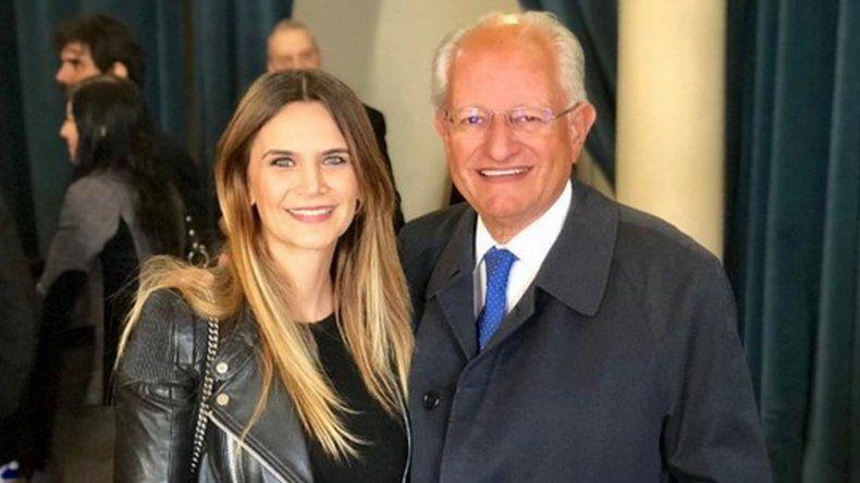 Amalia Granata se fotografió con Abel Albino