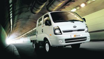kia k2500: version doble cabina